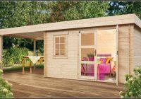Gartenhaus Mit Flachdach Holz