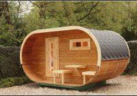 Gartenhaus Mit Sauna Selber Bauen