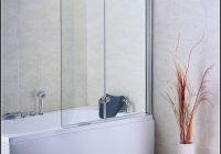 Glas Duschwand Fr Badewanne