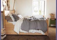 Ikea Bett Schwarz Holz