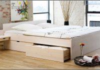 Ikea Bett Weis Holz