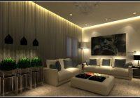 indirekte beleuchtung wohnzimmer dimmbar