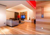indirekte beleuchtung wohnzimmer wand