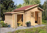 Karibu Gartenhaus Aufbauanleitung