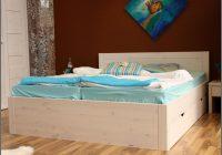 Kiefer Bett 140×200 Weiss