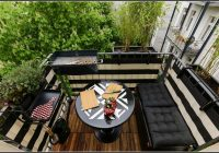 Kleiner Garten Auf Dem Balkon