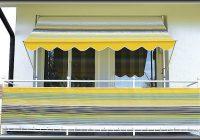 Klemm Markise Balkon 3m