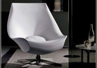 Lounge Sessel Leder Weiß