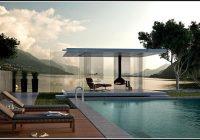 Luxus Gartenhaus Pavillon