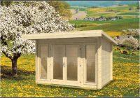 Mini Gartenhaus Holz