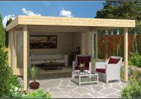 Modernes Gartenhaus Flachdach