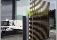 Pflanzgefäße Terrasse Holz