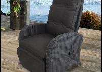 Polyrattan Sessel Verstellbare Rückenlehne