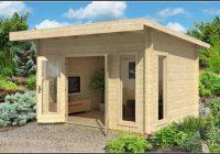 Pultdach Gartenhaus Holz