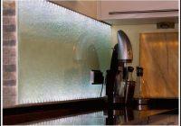 Satiniertes Glas Mit Led Beleuchtung