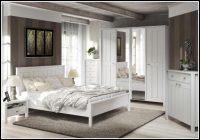 schlafzimmer komplett weiß landhaus