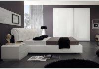 Schlafzimmer Schwarz Weiß Hochglanz