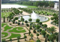 Schloss Versailles Garten Vogelperspektive