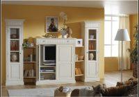 Schrankwand Wohnzimmer Weiß