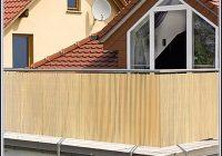 Sichtschutz Balkon Bambus Befestigen