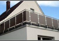 Sichtschutz Balkon Bambus Kunststoff