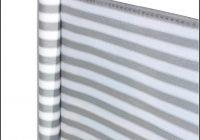 Sichtschutz Balkon Grau Wei