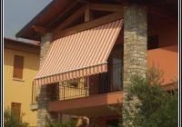 Sichtschutz Balkon Stoff Uni
