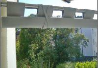 Sichtschutz Balkon Stoff Wei
