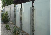 sichtschutz für terrasse glas