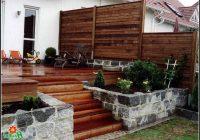 Sichtschutz Terrasse Aus Holz
