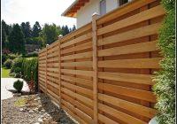 Sichtschutz Terrasse Holz Selber Bauen
