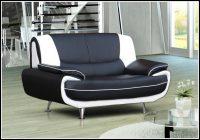 Sofa 2 Sitzer Weiß