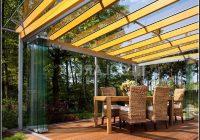 Sonnenschutz Für Terrassenüberdachung