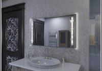 Spiegel Mit Led Beleuchtung Und Uhr 0903