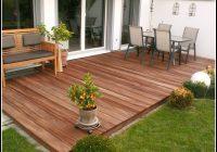Terrasse Aus Holz Bauen