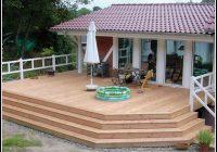 Terrasse Aus Holz Und Stein
