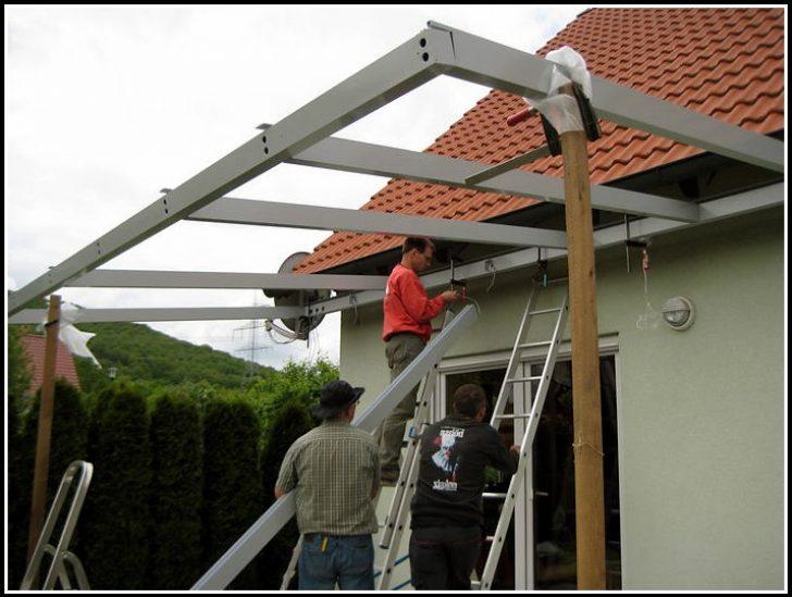Permalink to Terrassenüberdachung Alu Glas Bausatz