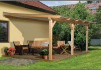 Terrassenüberdachung Bausatz Holz Freistehend