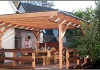 Terrassenüberdachung Holz Bauanleitung