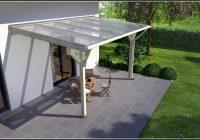 Terrassenüberdachung Holz Bauplan