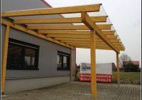 Terrassenüberdachung Holz Bausatz Glas