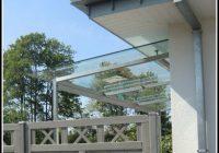 Terrassenüberdachung Holz Glas Bayern