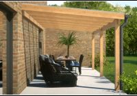 Terrassenüberdachung Holz Selbstbau