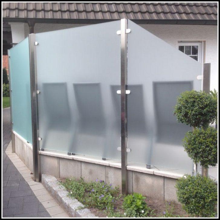 Permalink to Terrassen Sichtschutz Glas