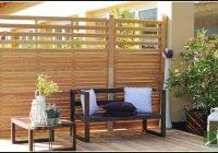 Terrassen Sichtschutz Holz