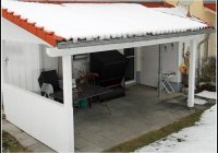 Terrassenueberdachung Bauen