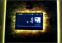 Tv Wand Mit Led Beleuchtung