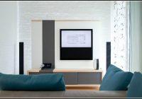 Wandgestaltung Wohnzimmer Tv
