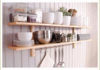 Wandregal Küche Ideen