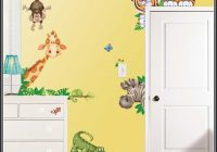 Wandtattoo Afrika Tiere Kinderzimmer